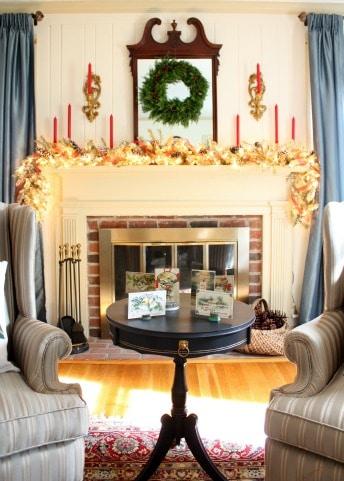 Christmas Mantel for 2015