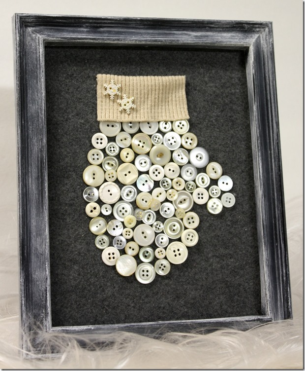 framed-craft-using-buttons