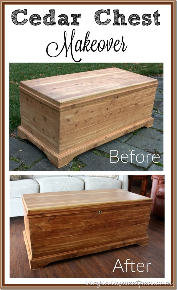 cedar chest makeover this handmade cedar chest got repaired and refreshed without the use of