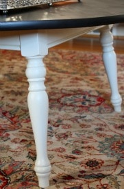 Coffee Table Makeover - A Goodwill coffee table gets a new look with paint.