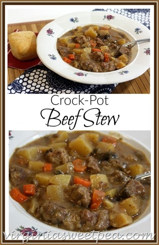 how to cook beef cubes in crock pot
