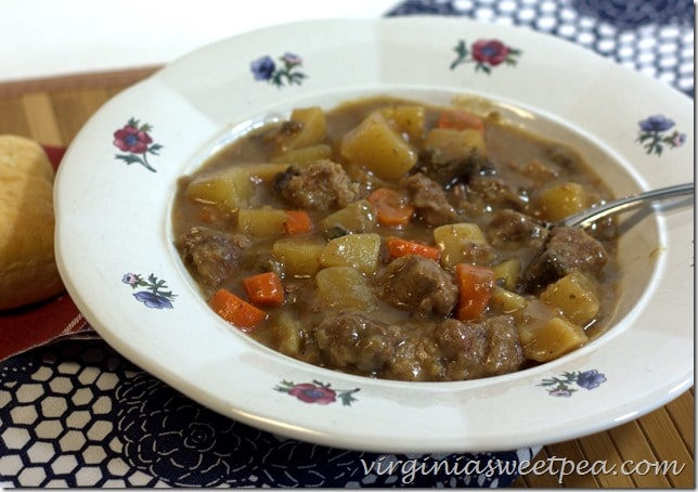 Crock-Pot Beef Stew - Let the crock-pot do the cooking!