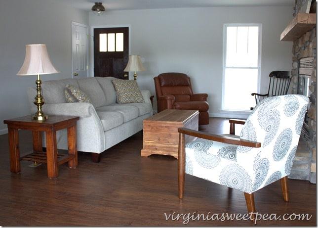 Living Room at Smith Mountain Lake