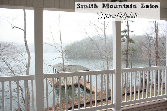 Smith Mountain Lake House in Winter