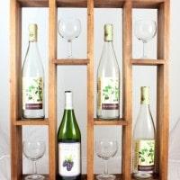 DIY Wine Rack – Display Your Favorite Wines