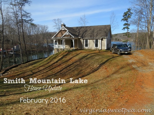 Smith Mountain Lake House Update - February 2016 - virginiasweetpea.com