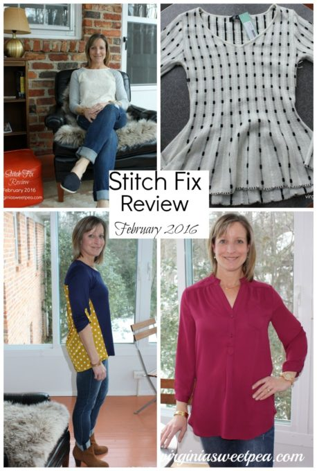 Stitch Fix Review for February 2016