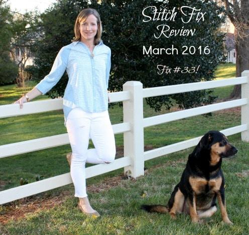 March 2016 Stitch Fix Review