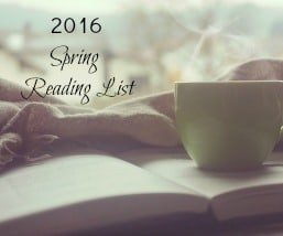 Book Suggestions for Spring 2016
