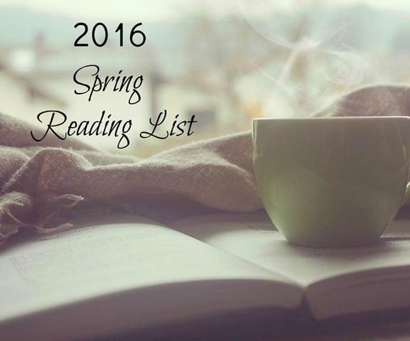 2016 Spring Reading List