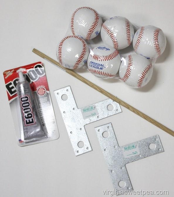 Baseball Bookend Supples