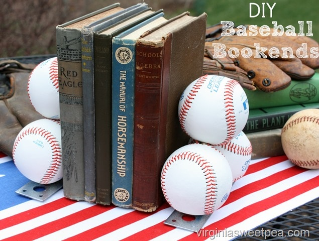 Baseball Bookends - A Tutorial