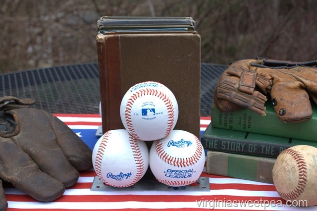 How To Make Baseball Bookends - Get the full tutorial at virginiasweetpea.com