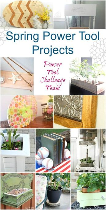 Easy Power Tool Projects for Spring