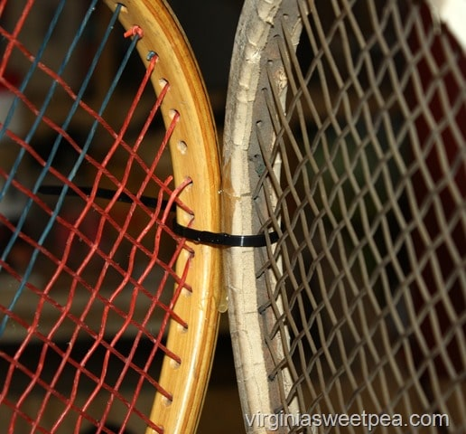 How to Make a Tennis Racket Table