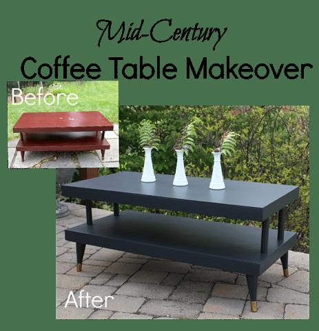 mid century coffee table makeover sweet pea