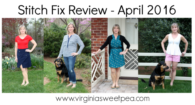 April 2016 Stitch Fix Review