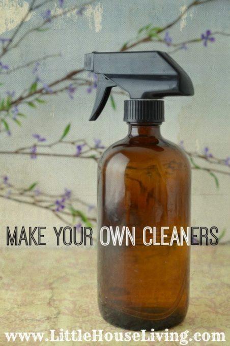 Homemade Household Cleaner Recipes