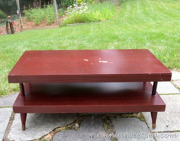 "Mid-Century Coffee Table  - ""Before"""