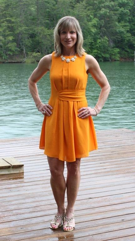 June 2016 Stitch Fix Review - Addelyn Rae Taliya Dress - virginiasweetpea.com