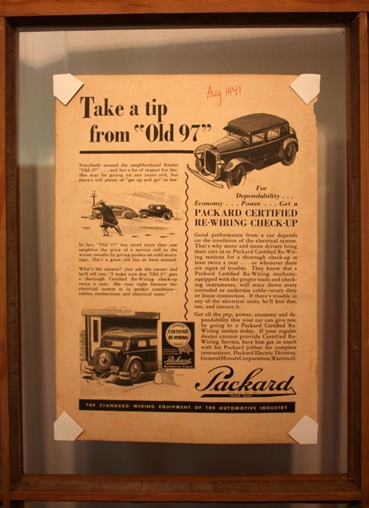 Packard Ad from August 1941 Popular Mechanics Magazine