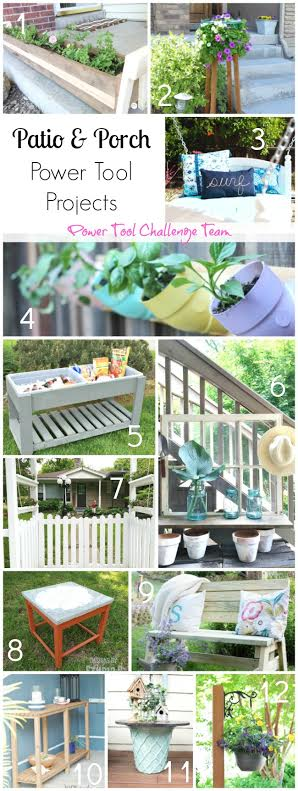 Patio and Porch Power Tool Projects