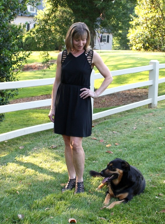 Pixley Sondra Textured Knit Dress - June 2016 Stitch Fix Review - virginiasweetpea.com
