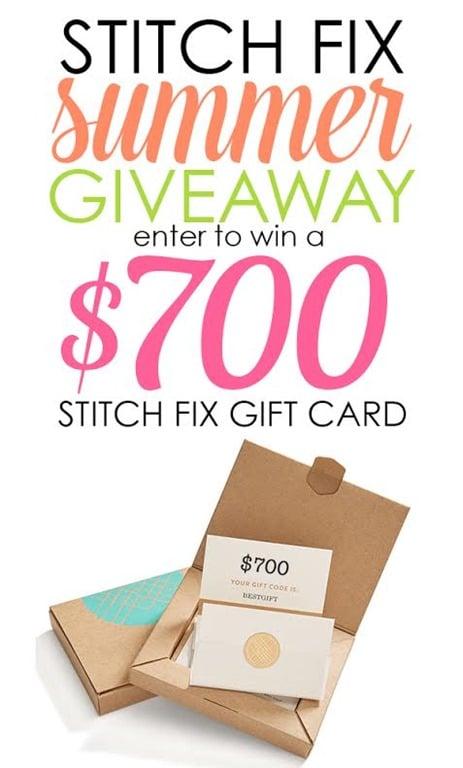 Stitch Fix $700 Summer Giveaway