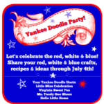 Yankee Doodle Party!  Get Inspired by Red, White and Blue