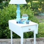 Drop Leaf Table Makeover