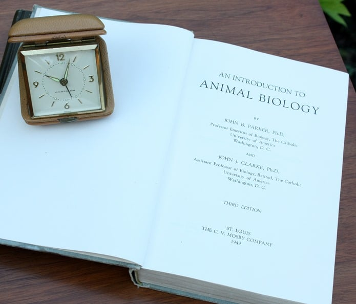1949 An Introduction to Animal Biology by Parker and Clarke