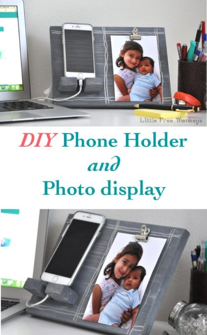 DIY-phone-holder-and-picture-display-_pinterest