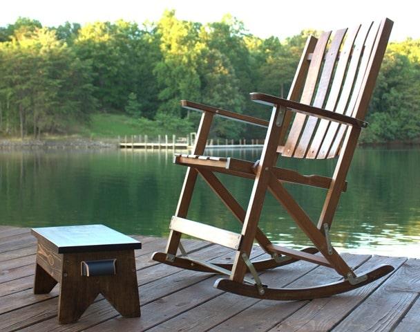DIY Wooden Footstool