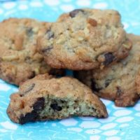 Chocolate Chip Toffee Potato Chip Cookies