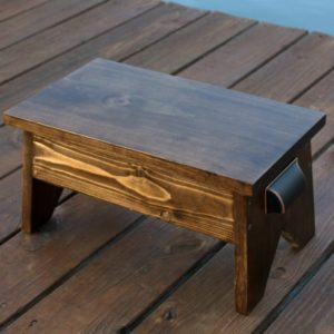 Wooden Footstool - How to Make