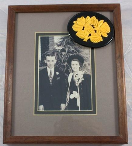 Ed and Margueite Ahalt - 1938 Wedding Picture