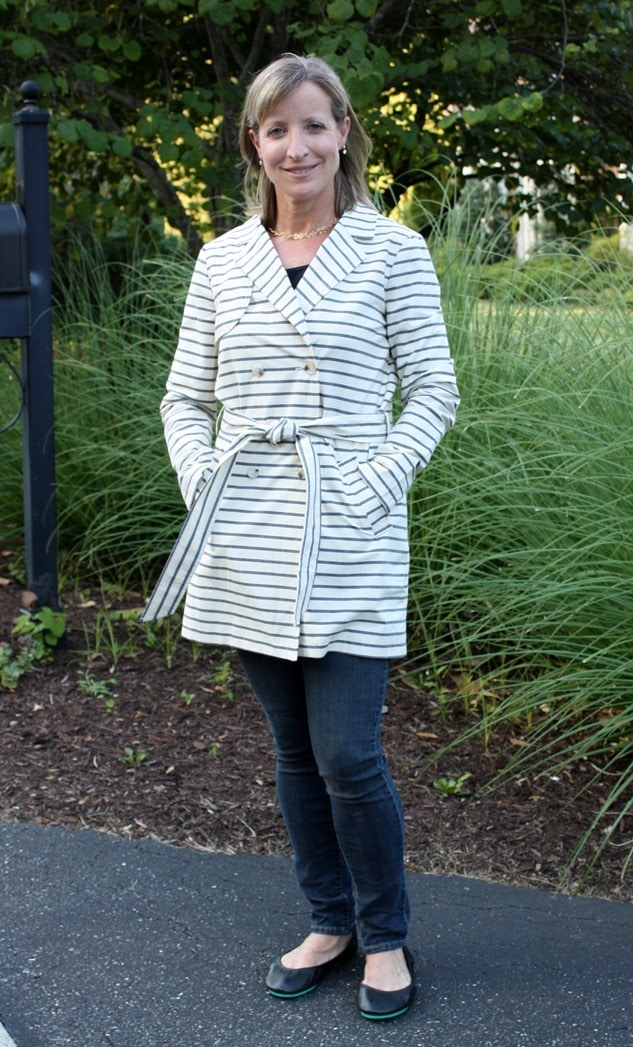 Market and Spruce Marsay Trench Jacket -Stitch Fix Review - July 2016 - virginiasweetpea.com