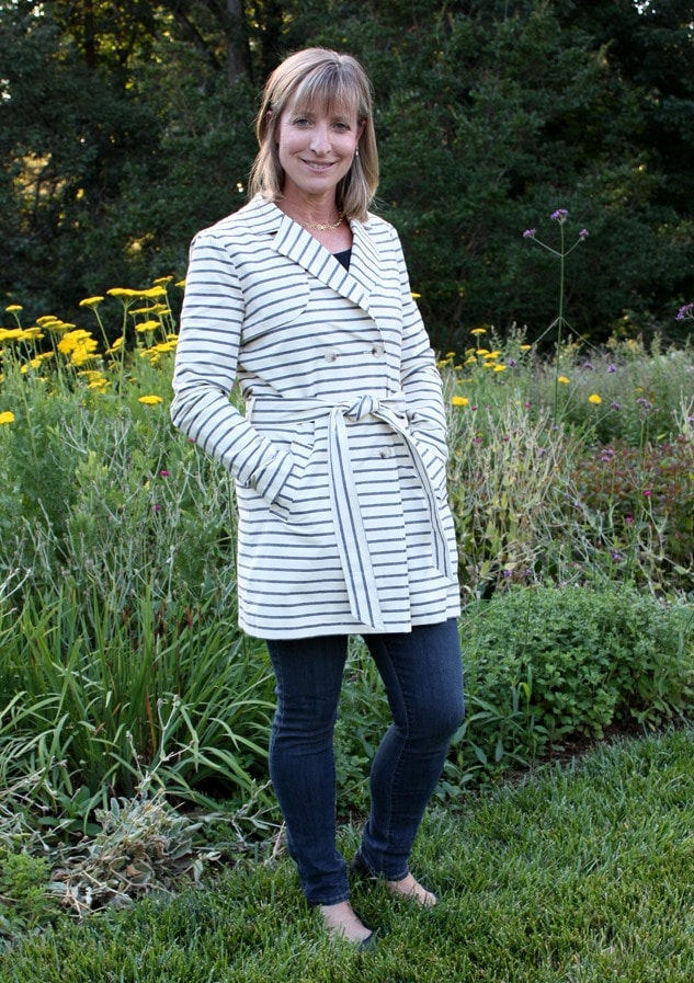 Stitch Fix Review - July 2016 - Market and Spruce Marsay Trench Jacket - virginiasweetpea.com