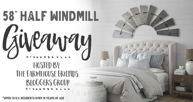58 Inch Half Windmill Giveaway