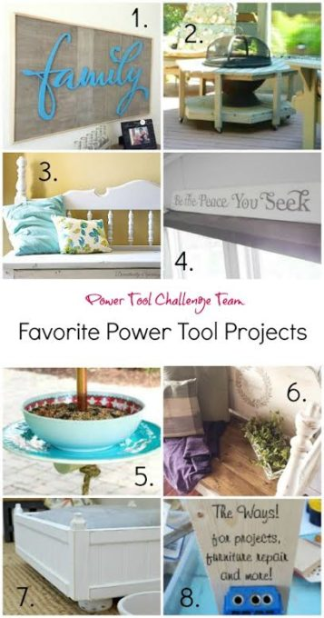 Power Tool Projects that YOU can make!