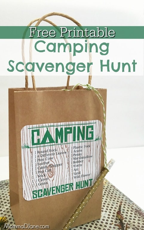 Free-Printable-Camping-Scavenger-Hunt