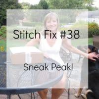 Get a sneak peak of my 38th Stitch Fix box.