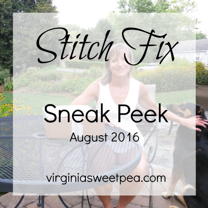 Stitch Fix Sneak Peek for August 2016