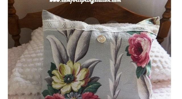 Vintage-Barkcloth-Pillow