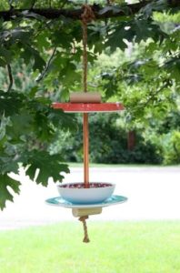 How to make an easy bird feeder. Get the step by step instructions. virginiasweetpea.com