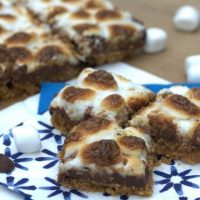 Spicy Smoky S'mores Bars