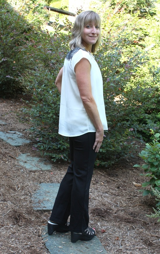 August 2016 Stitch Fix Review - Lysse Izzie Straight Leg Pant - virginiasweetpea.com