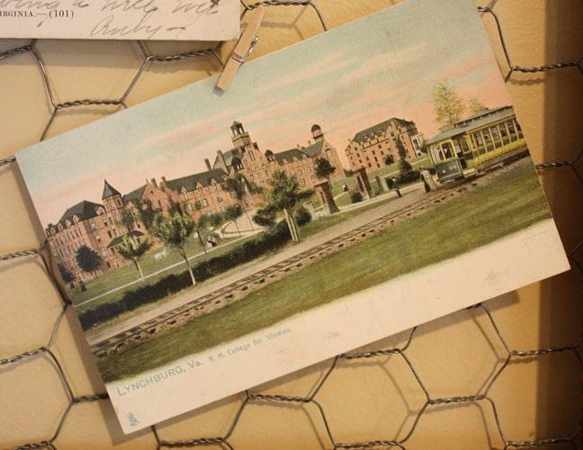 Randolph Macon College for Women Antique Post Card