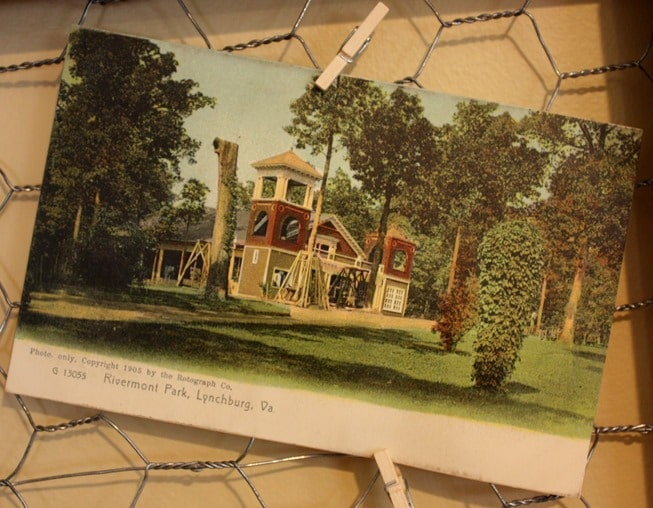Rivermont Park, Lynchburg, VA 1905 Post Card
