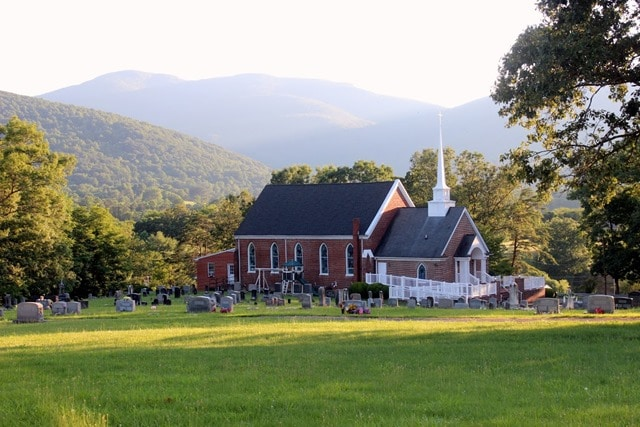Rodes United Methodist Church, Afton, VA